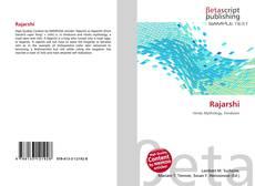 Rajarshi kitap kapağı