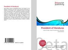 Bookcover of President of Honduras