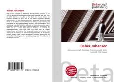 Copertina di Baber Johansen