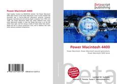 Bookcover of Power Macintosh 4400