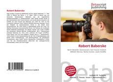 Buchcover von Robert Baberske