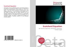 Couverture de Scatchard Equation