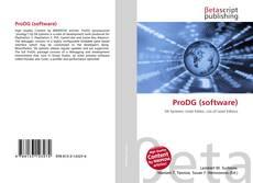 Capa do livro de ProDG (software)