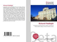 Richard FitzRalph的封面