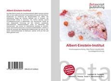 Bookcover of Albert-Einstein-Institut