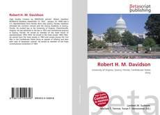 Robert H. M. Davidson kitap kapağı