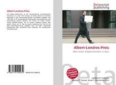 Buchcover von Albert-Londres-Preis
