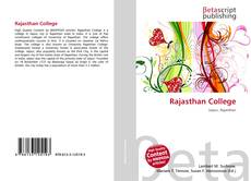 Bookcover of Rajasthan College