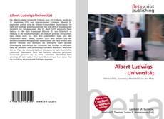 Couverture de Albert-Ludwigs-Universität