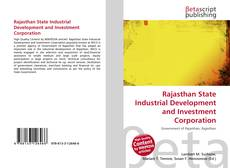 Bookcover of Rajasthan State Industrial Development and Investment Corporation