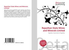 Rajasthan State Mines and Minerals Limited的封面