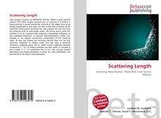 Bookcover of Scattering Length