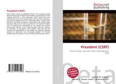 Copertina di President (CSRT)