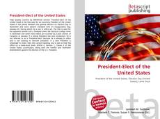 Bookcover of President-Elect of the United States