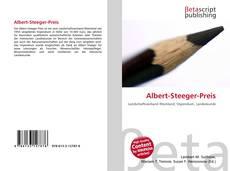 Buchcover von Albert-Steeger-Preis