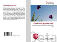 Buchcover von Albert-Weisgerber-Preis
