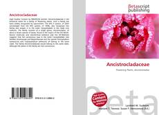 Обложка Ancistrocladaceae