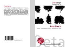 Bookcover of Parasitaxus