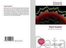 Capa do livro de Rajat Kapoor