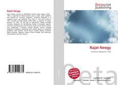 Capa do livro de Rajat Neogy