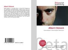 Buchcover von Albert Clément