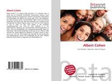 Buchcover von Albert Cohen