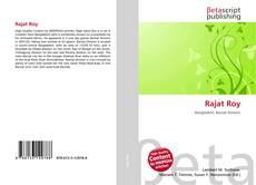 Capa do livro de Rajat Roy