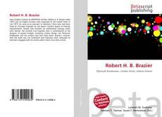 Portada del libro de Robert H. B. Brazier