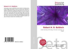 Portada del libro de Robert H. B. Baldwin