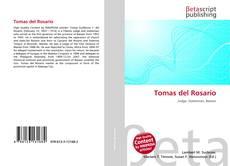 Couverture de Tomas del Rosario
