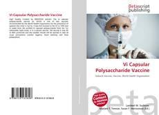 Bookcover of Vi Capsular Polysaccharide Vaccine