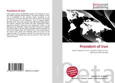 Bookcover of President of Iran