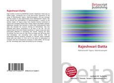 Buchcover von Rajeshwari Datta