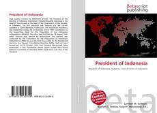 Bookcover of President of Indonesia