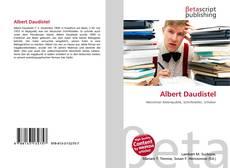 Portada del libro de Albert Daudistel