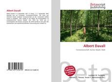 Buchcover von Albert Davall