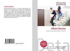 Capa do livro de Albert Devèze