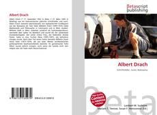 Buchcover von Albert Drach