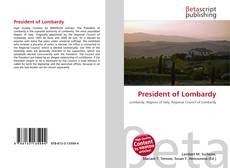 Bookcover of President of Lombardy