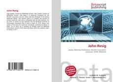 Bookcover of John Resig