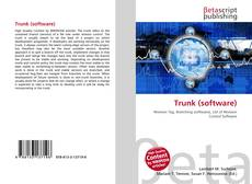 Bookcover of Trunk (software)