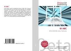 Bookcover of W ABC