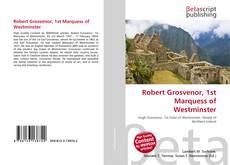 Robert Grosvenor, 1st Marquess of Westminster kitap kapağı