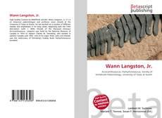 Capa do livro de Wann Langston, Jr.