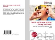 Capa do livro de Wann Wird's Mal Wieder Richtig Sommer?
