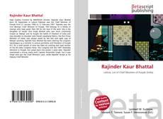 Capa do livro de Rajinder Kaur Bhattal