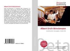 Buchcover von Albert Erich Brinckmann