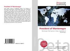 Bookcover of President of Montenegro
