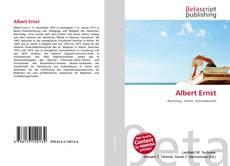 Buchcover von Albert Ernst