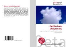 Couverture de GADEx-Texte (Babylonien)
